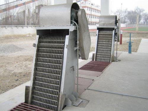 回zhuanshi格栅除污机HKL-GS-1型